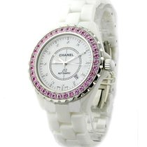 Chanel H2011 Full Size J12 42mm Automatic in White Ceramic...