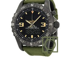 Breitling Professional Chronospace Military Black Steel...