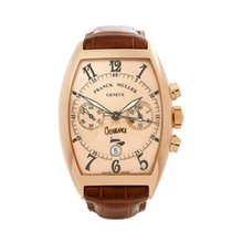 Franck Muller 40mm Automatic 2010 pre-owned Casablanca Pink