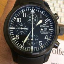 Fortis B-42 Flieger Black Chronograph