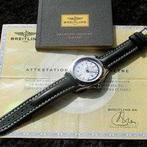 Breitling GALACTIC UNITIME SLEEK T STAHL WOLFRAMKARBID...