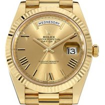Rolex Day-Date 40 18kt Solid Gold