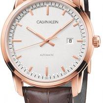 ck Calvin Klein Steel 42mm Automatic K5S346G6 new