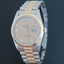 Rolex White gold 36mm Automatic 18239 pre-owned