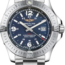 Breitling Colt Quartz Steel 44mm Blue Arabic numerals United States of America, New York, New York