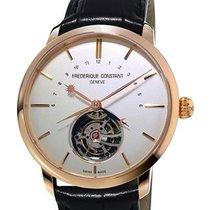 Frederique Constant Manufacture Tourbillon Or rose 43mm Argent