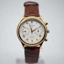 Wyler Vetta Yellow gold Manual winding White Roman numerals 38mm new