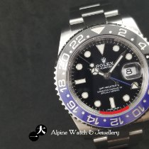 Rolex GMT-Master II Steel 40mm Black No numerals