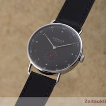 NOMOS Metro 38 pre-owned 38.5mm Black Leather