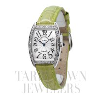 Franck Muller Cintrée Curvex White gold 35mm Silver United States of America, New York, Hartsdale