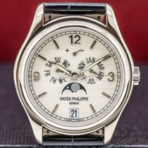 Patek Philippe Annual Calendar White gold 39mm White Arabic numerals United States of America, Massachusetts, Boston