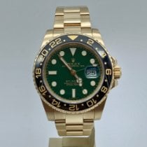 Rolex 116718LN Yellow gold 2013 GMT-Master II 40mm pre-owned