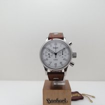 Hanhart Steel 40mm Automatic H715.0102-00 new