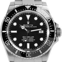 Rolex Sea-Dweller 4000 Stahl 40mm Schwarz Keine Ziffern Schweiz, Roveredo