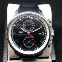 IWC pre-owned Automatic Black Sapphire crystal 6 ATM