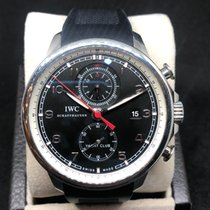 IWC Portuguese Yacht Club Chronograph Steel Black Arabic numerals United States of America, California, SAN DIEGO