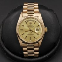 Rolex Day-Date 36 Or rose 36mm Champagne
