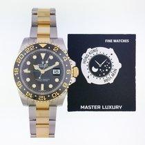 勞力士 GMT-Master II 金/鋼 40mm 黑色 無數字 香港, Causeway Bay