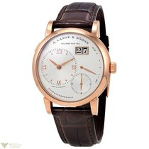 A. Lange & Söhne Lange 1 Power Reserve 18K Yellow Gold Leather...