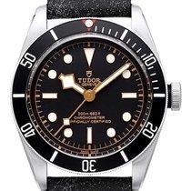 Tudor Heritage Black Bay Automatik Black 79230N Lederband