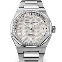 Girard Perregaux Laureato 81005D11A131-11A Girard Perregaux Acciaio Con 56 Diamanti nouveau