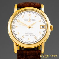 Ulysse Nardin Yellow gold Automatic White Arabic numerals 33 mmmm pre-owned San Marco
