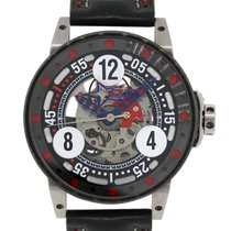 B.R.M V6-046 DeFrancesco Racing Sport Watch on Leather Strap...