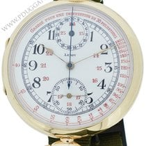 L.Leroy 18k yellow gold early medical Chronograph wristwatch