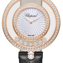 Chopard Happy Diamonds Rose gold 32mm Mother of pearl United States of America, New York, Airmont