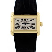 Cartier Tank Divan pre-owned 31mm Yellow gold
