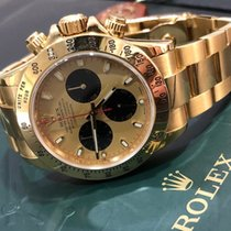 "Rolex Daytona 116528 Yellow Gold ""Paul Newman"" Dial - Z serial"