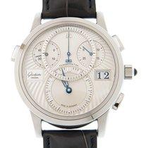 Glashütte Original PanoMaticChrono new Automatic Watch with original box and original papers 1-95-01-03-03-04