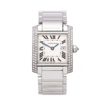 Cartier Tank Française WE1018S3 or 2491 2000 pre-owned