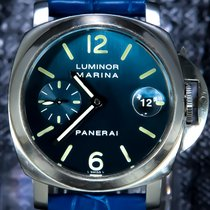 Panerai 40mm Automatic pre-owned Blue