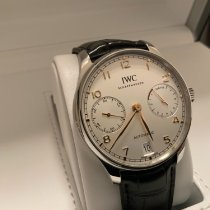 IWC Portuguese Automatic Steel 42.3mm White