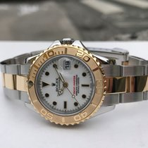 Rolex Yacht-Master Gold/Steel 29mm White No numerals