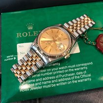 Rolex 36mm pre-owned Datejust (Submodel) Champagne