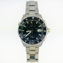 TAG Heuer Aquaracer 500M Steel 44mm Black No numerals United States of America, New York, New York