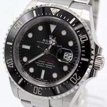 Rolex Sea-Dweller Ατσάλι 43mm Μαύρο