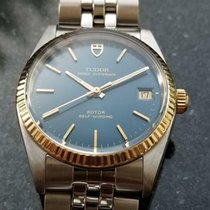 Tudor Prince Oysterdate Gold/Steel 34mm Blue United States of America, California, Beverly Hills
