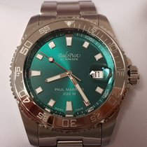 Paul Picot Steel 42 mmmm Automatic 4352SG pre-owned