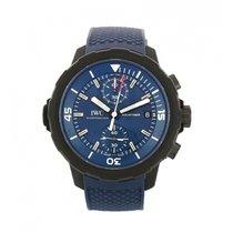 IWC Aquatimer Chronograph Otel 45mm Albastru