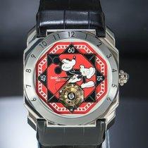 Gérald Genta Octo Bi-Retro Platinum 42,5mm Red