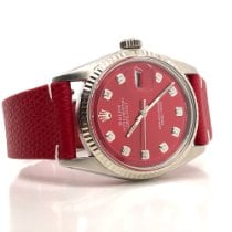 Rolex Datejust Steel 36mm Red