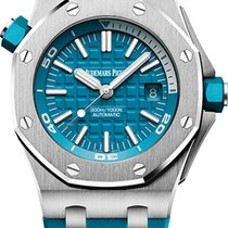 Audemars Piguet Royal Oak Offshore Diver Acero 42mm Azul Sin cifras