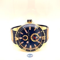 Ulysse Nardin Diver Chronometer Rose gold 44mm Blue