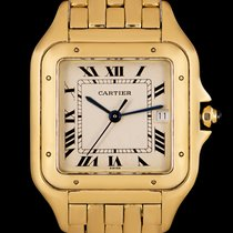 Cartier Panthère Жёлтое золото 27mm Cеребро Римские