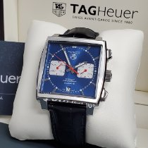 TAG Heuer Monaco Calibre 12 new 2019 Automatic Chronograph Watch with original box and original papers CAW2111.FC6183