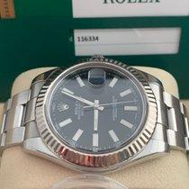 Rolex Datejust II Ocel 41mm Modrá Bez čísel
