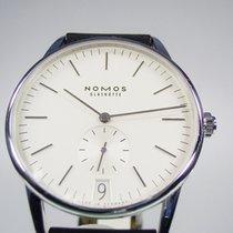 NOMOS 381 Acier 2020 Orion Datum 38mm nouveau
